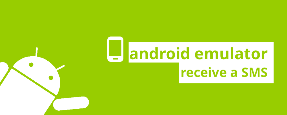 Android emulator: receiving an SMS - Code, Procedure and