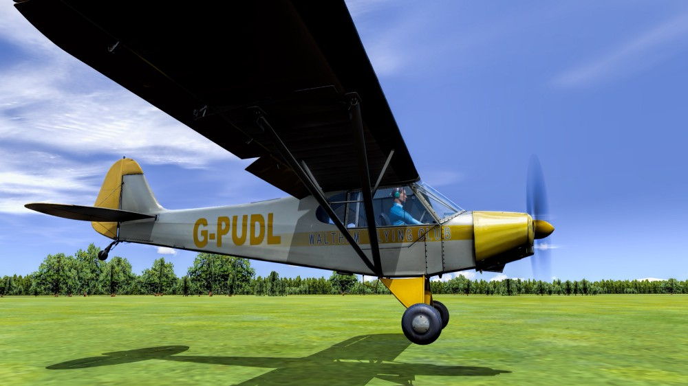 The real Cub and the Cub in FSW - Outpost2 - Medium