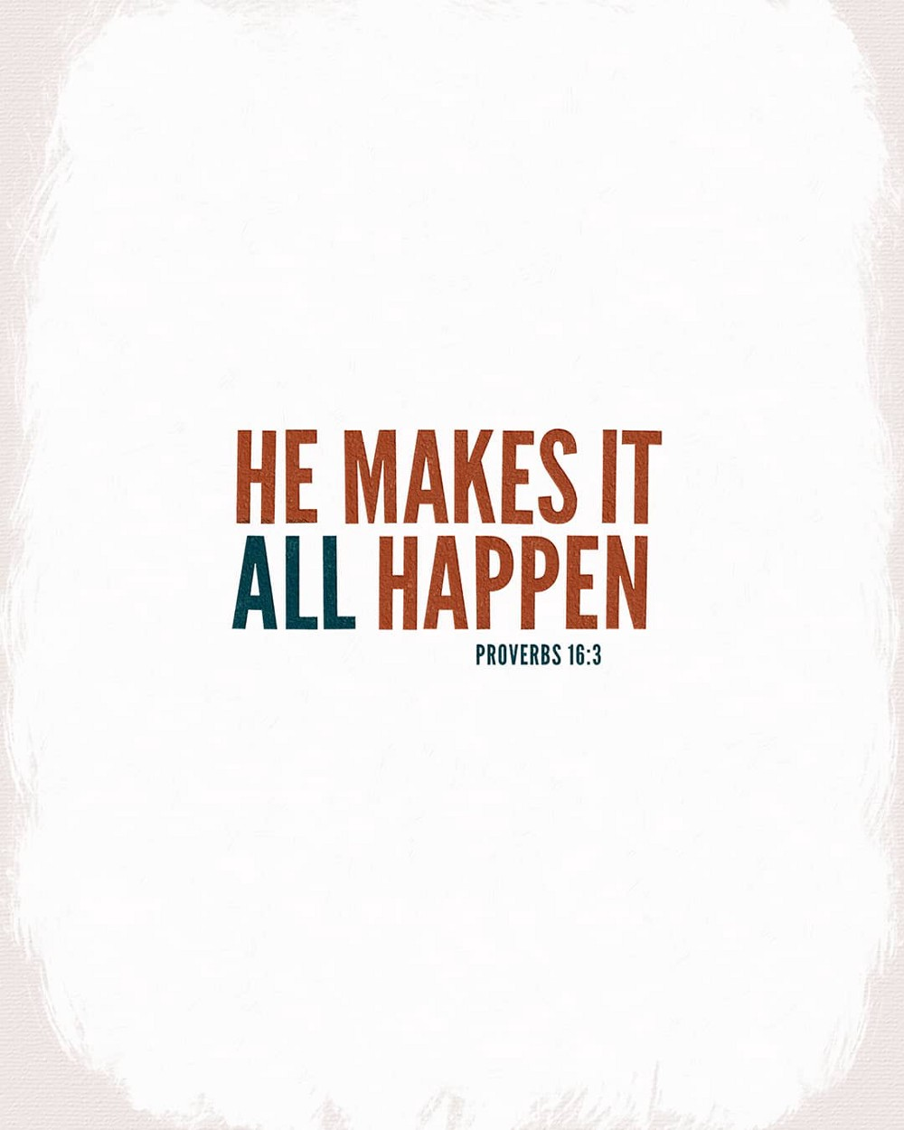 He makes it all happen! | Small Voice Today