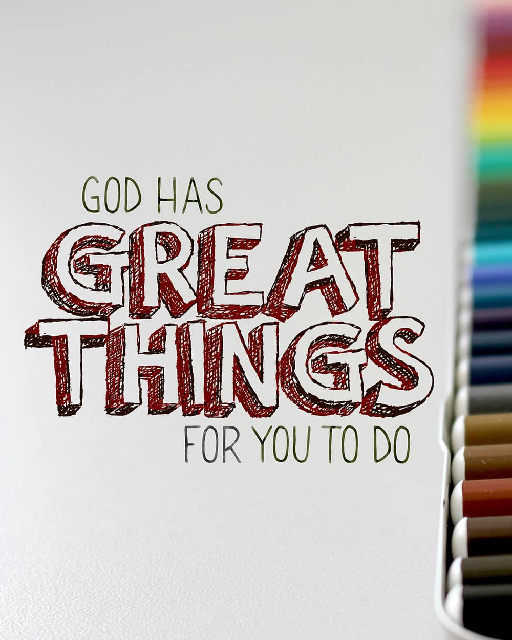 god has great things for you to do—small voice today