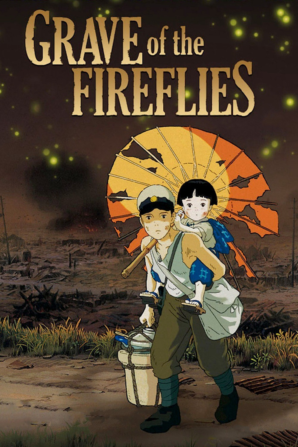 Review Animasi Grave Of The Fireflies Hotaru No Haka