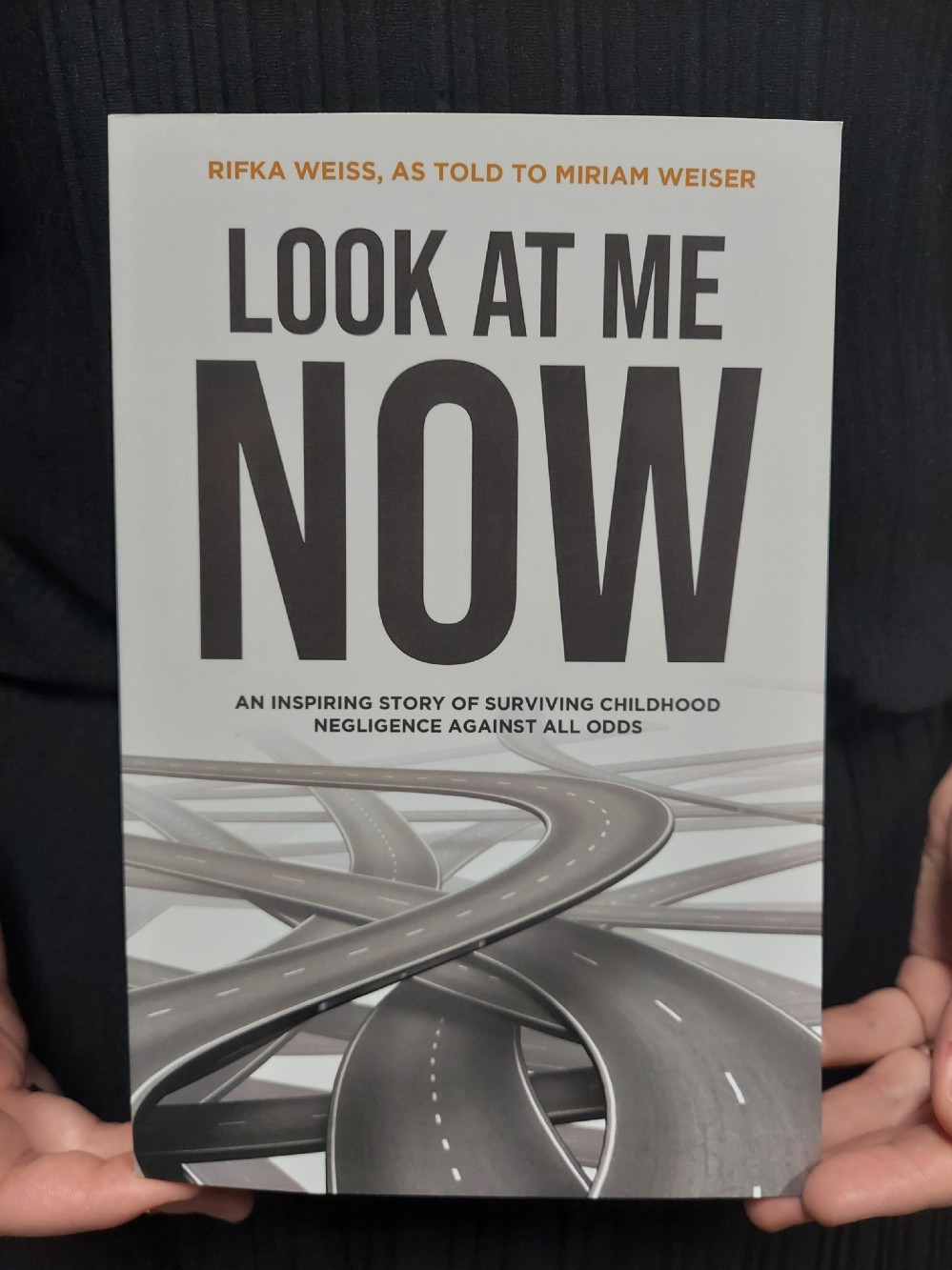 Front image of the book, Look At Me Now