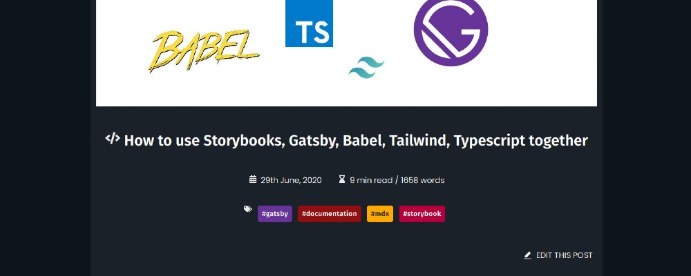 Add an 'edit post' button to your Gatsby blog