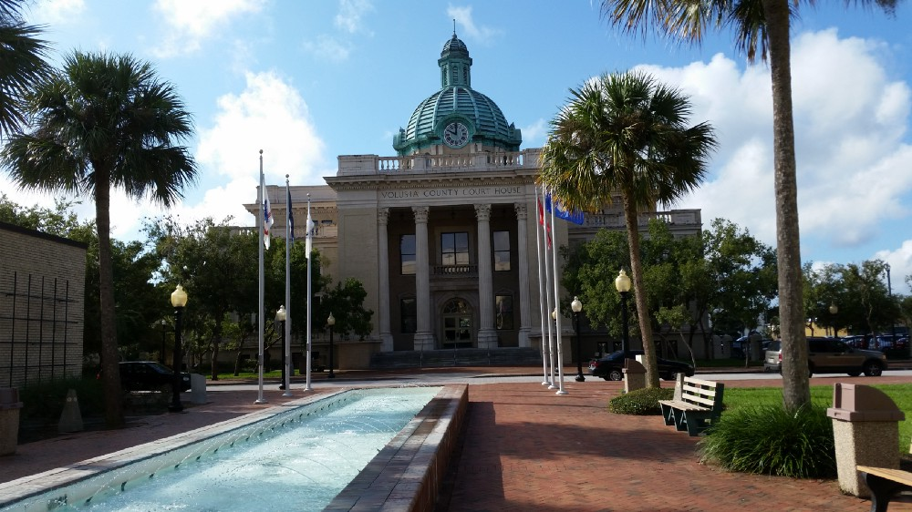 81202fed Volusia County Government buildings. The County could benefit from research  and volunteer efforts led by Stetson.
