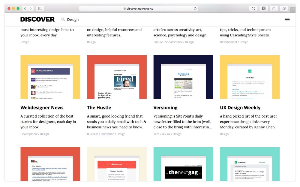 How to Keep Up with the Best of the Web - Revue