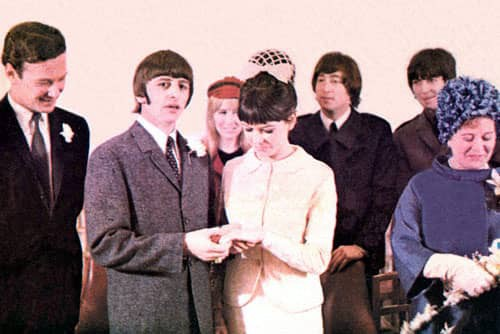 Image result for wedding date of ringo starr and maureen