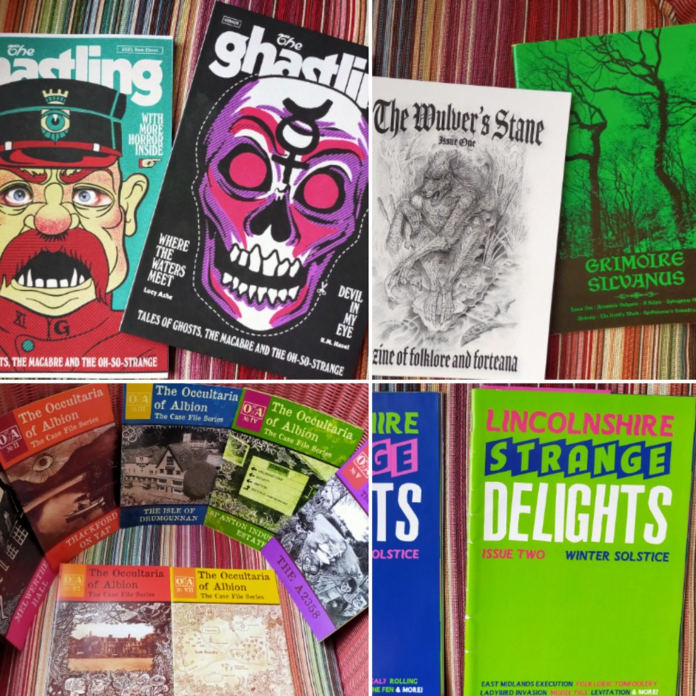 """Personal """"zine"""" collection, part 2, including titles not mentioned in the text,"""