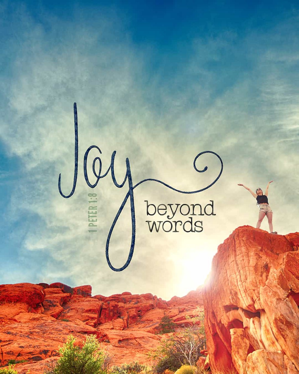 Joy beyond words—small voice today