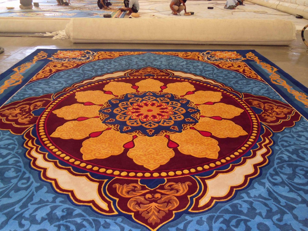 India Hand Knotted Rugs Carpets