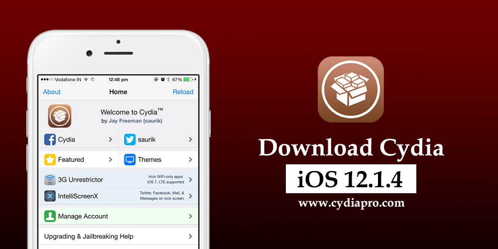 Latest Cydia app store updated for download Cydia iOS 12 1 4