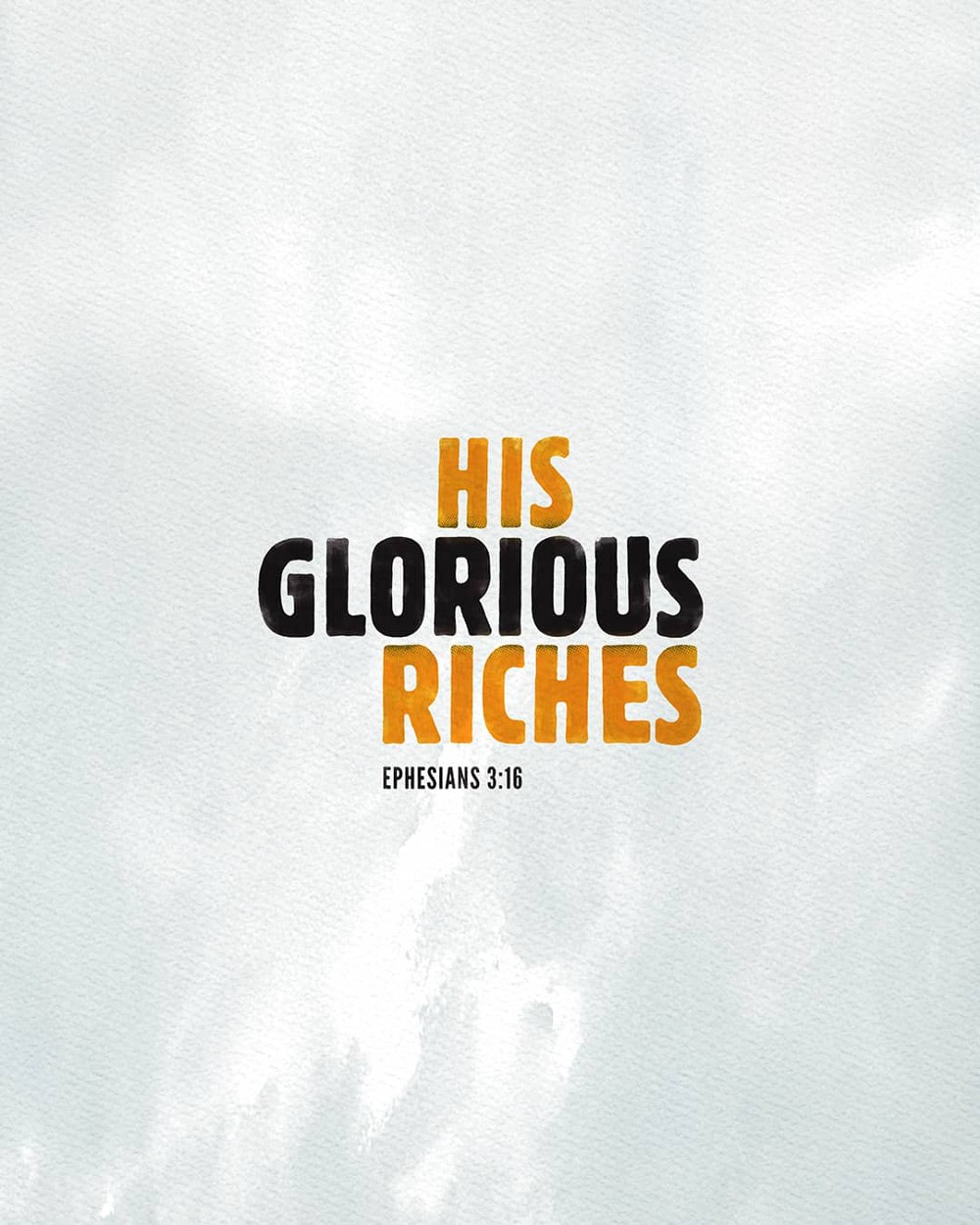 His glorious riches | Small Voice Today