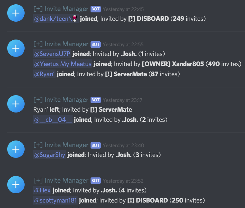 Invitemanager Bot Discord