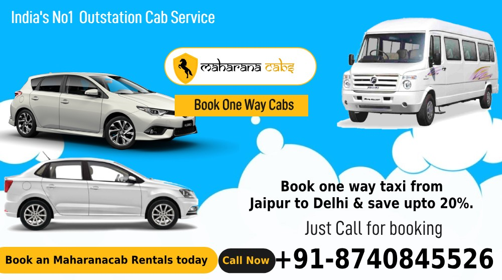 Hire Best Cab Facility in Jaipur at Cheap Rate with Maharana