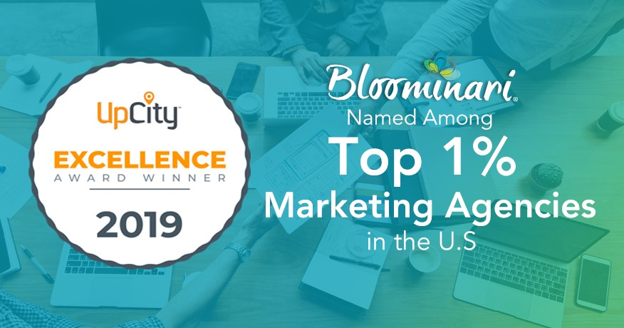 Bloominari in the Top 1% Best Marketing Agencies 2019 in the United
