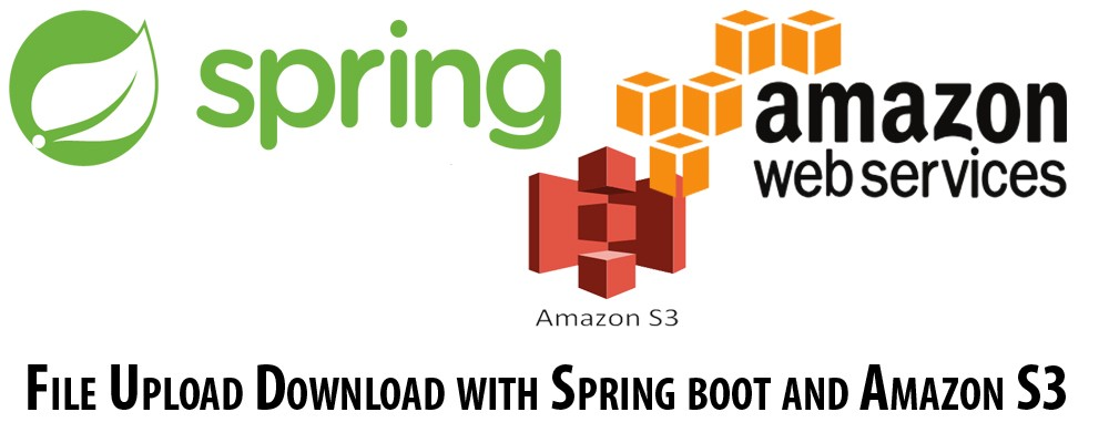 File Upload Download with Spring boot and Amazon S3