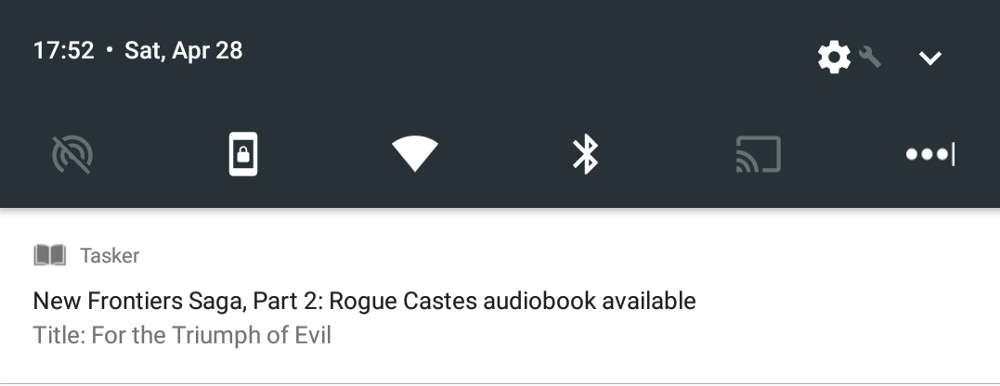 """How I made an Audible """"new series entry"""" notification system in"""