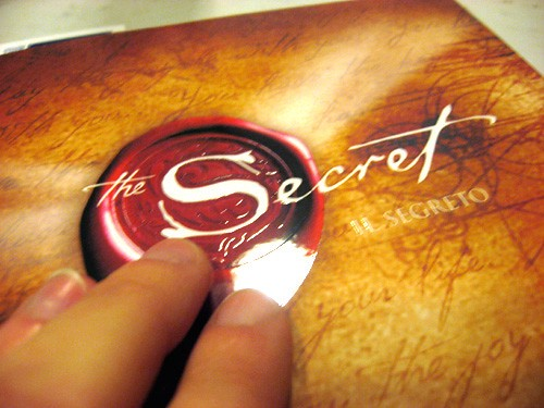 list of books to read—a book named Secret