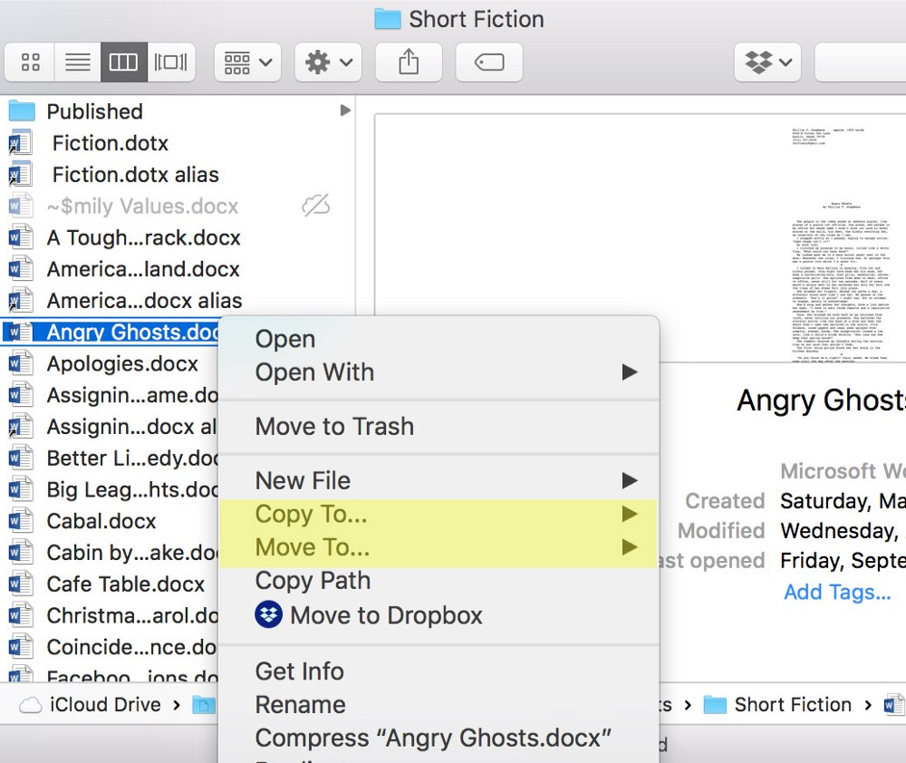 QuickMoveFile shortcuts several Finder Operations, but I use to organize my files.