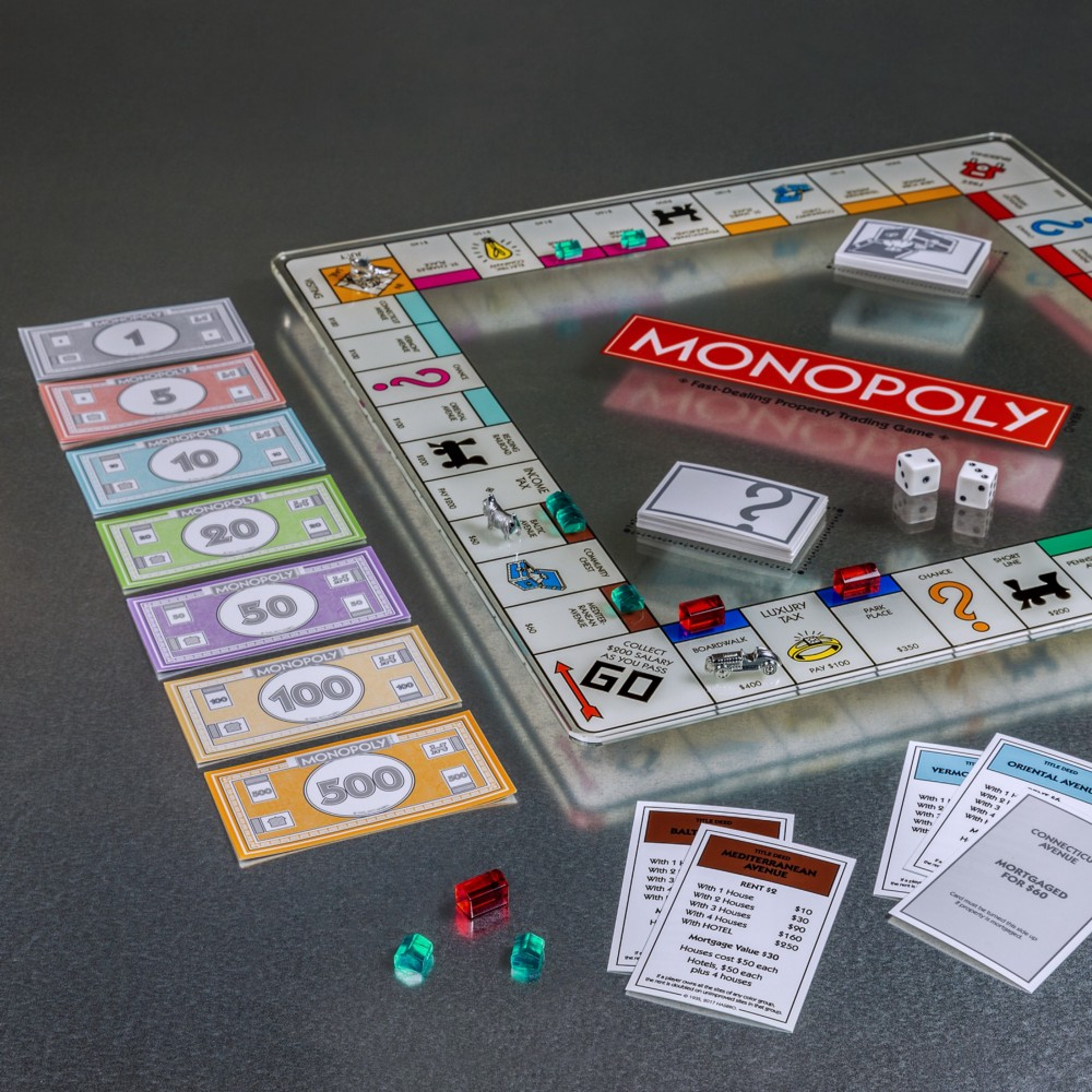 Monopoly is a board game that teach beginners about investing