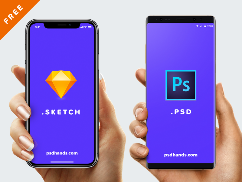 20 Free iPhone X Mockups [PSD, Sketch] — 2019 - UX Planet