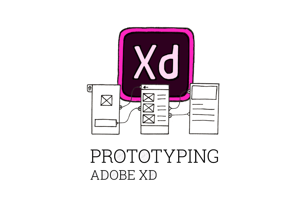 UI design with Adobe XD prototyping tool - A DESIGNER'S
