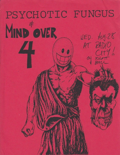 Can I Clear My Throat — Punk Rock Flyers and the Missing Subversion
