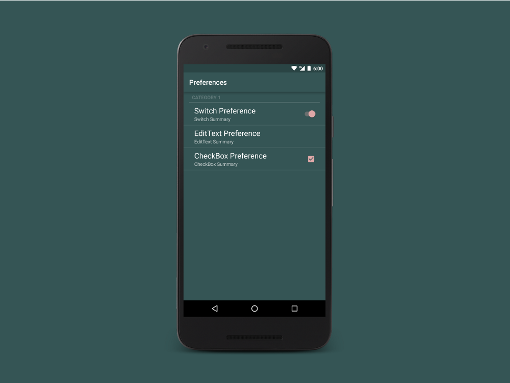 Building an Android Settings Screen (Part 1) - Jakob Ulbrich - Medium