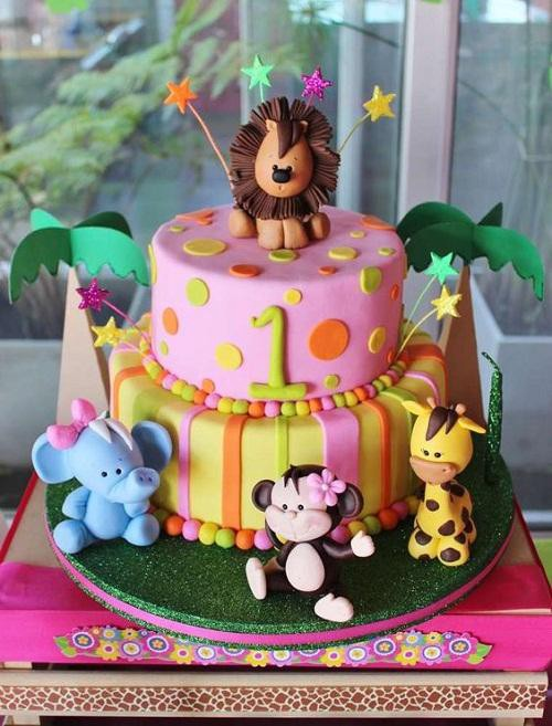 Incredible Amazing First Birthday Cake Design Ideas Bondita Deka Medium Funny Birthday Cards Online Elaedamsfinfo