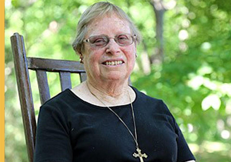 Sister Roseanne Cook, who cared for the poor as a medical doctor in rural Alabama until retiring in 2017 at the age of 78.