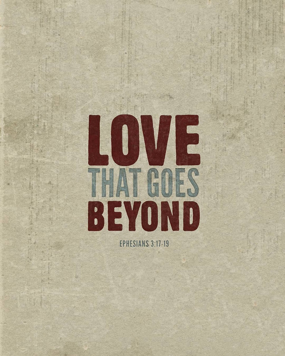 Love that goes beyond | Small Voice Today