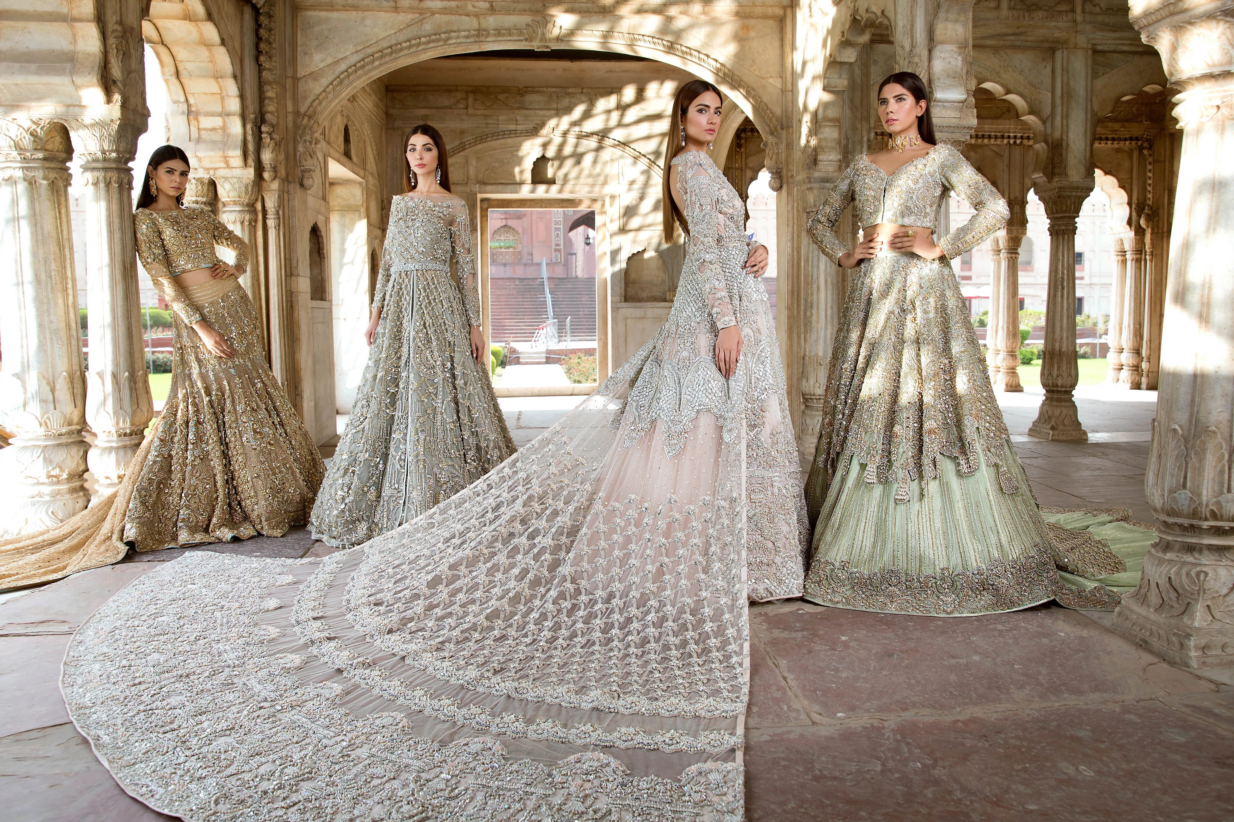 Variety In Designs And Styles For Pakistani Bridal Dresses For Girls By Emma Johnson Bridal Dresses Wedding Dresses Aug 2020 Medium,Wedding Guest Simple Rose Gold Casual Dress