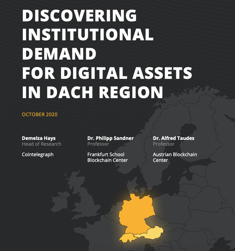 Discovering Institutional Demand for Digital Assets in the DACH Region