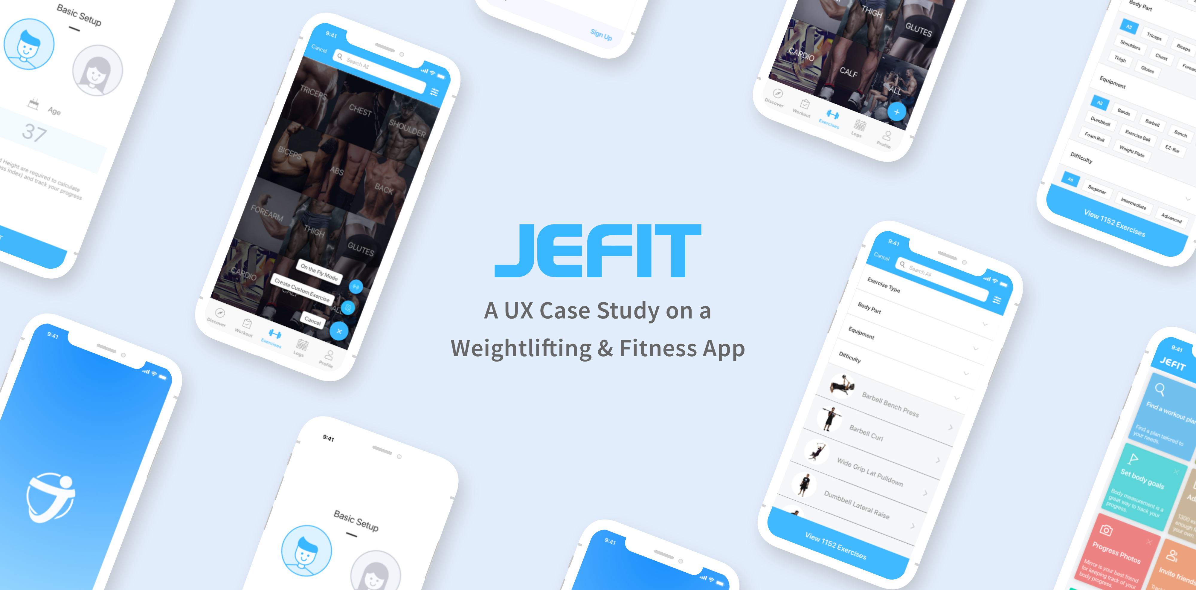 UX Case Study on Jefit: A Popular Bodybuilding and Workout