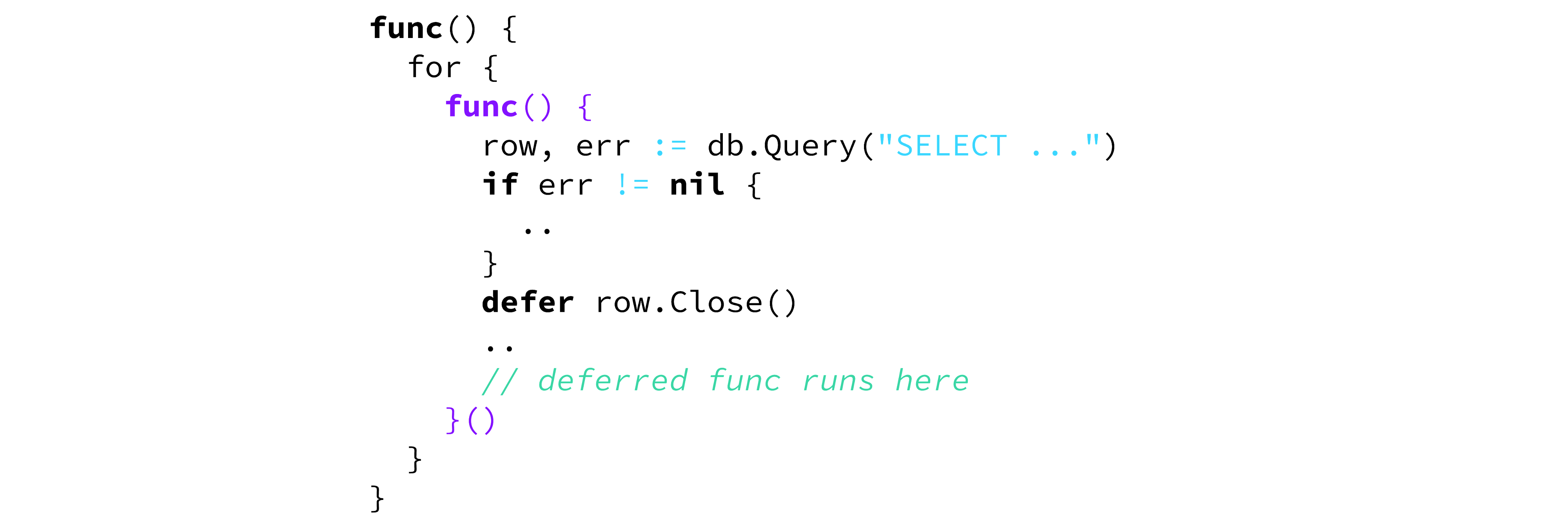 5 Gotchas of Defer in Go — Part I - Learn Go Programming