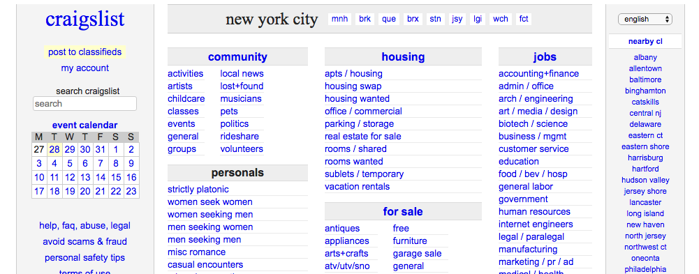 Craigslist App For Nyc Real Estate Brokers By Eric Wagner Medium