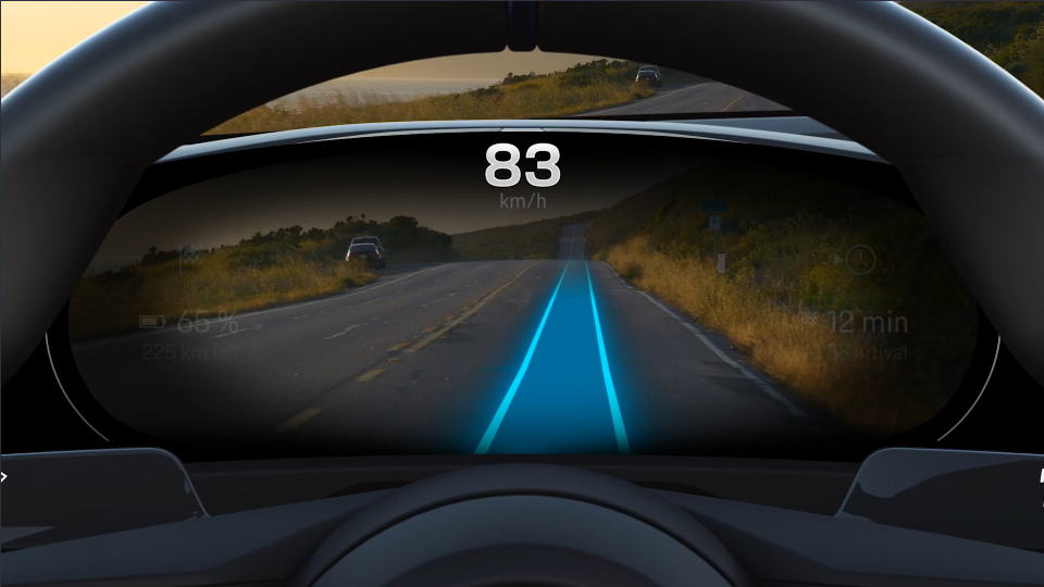 Porsche and the future of navigation - Points of interest