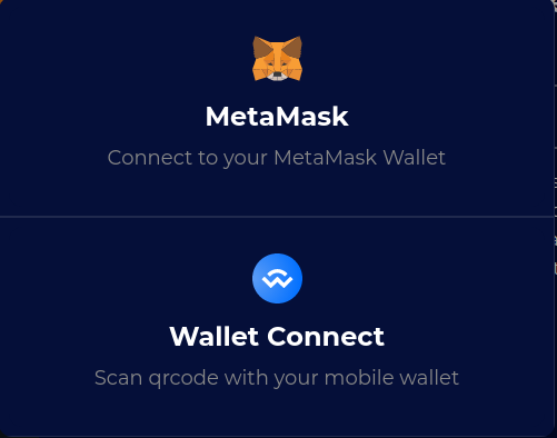 The wallet selection process