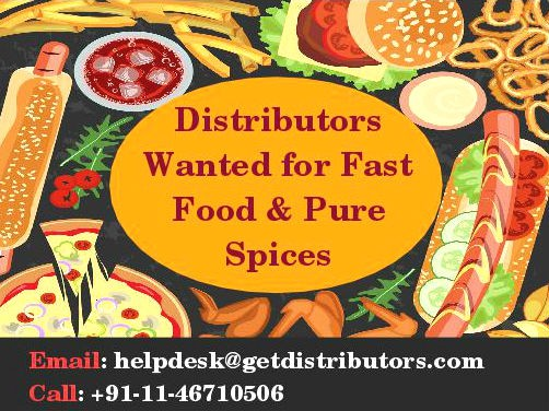 Distributors Wanted for Fast Food and Pure Spices - GetDistributors