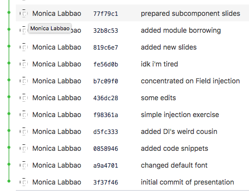 My experience putting my documents through Version Control
