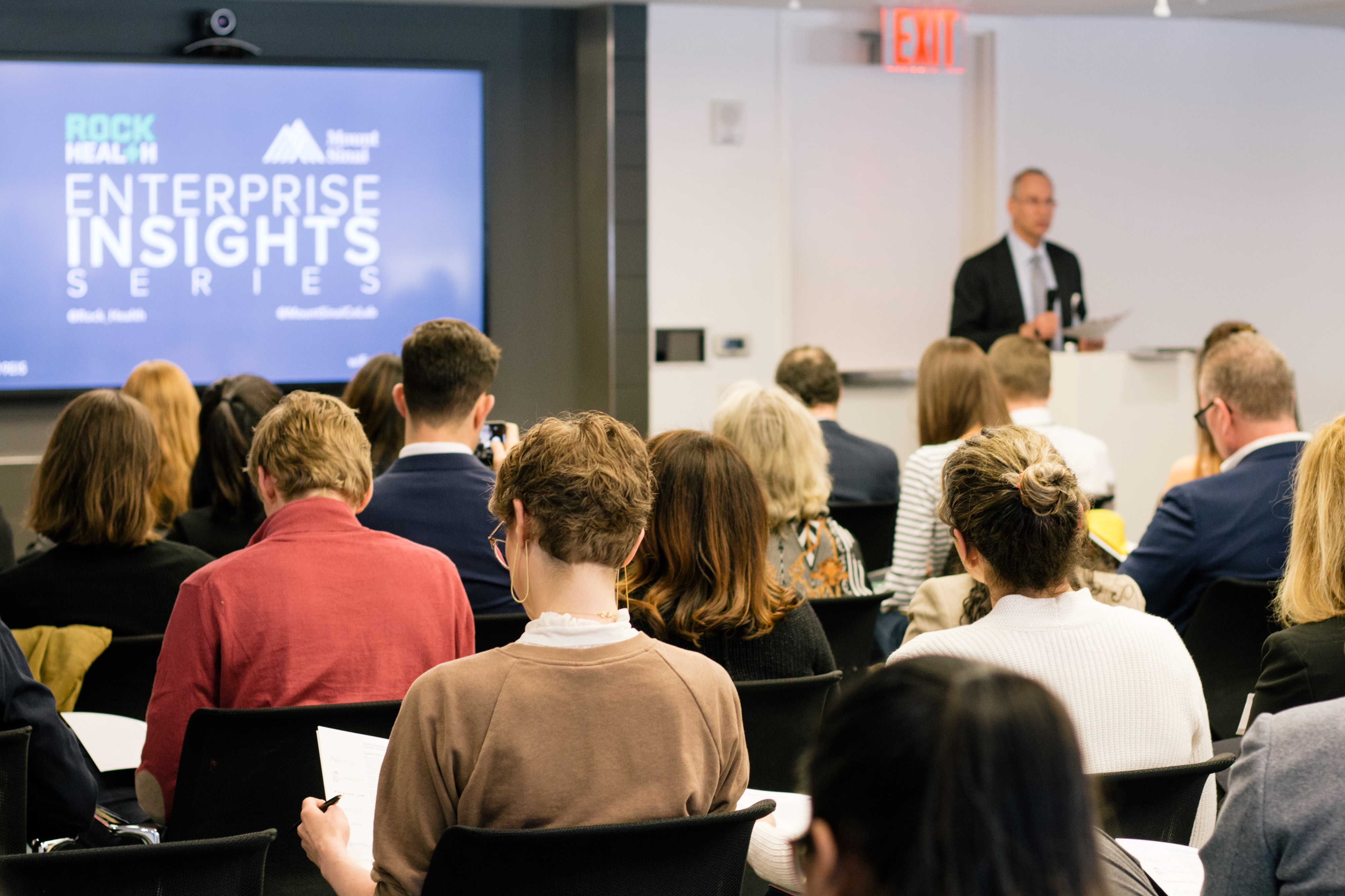 Rock Health And Mount Sinai Enterprise Insights Series: NYC
