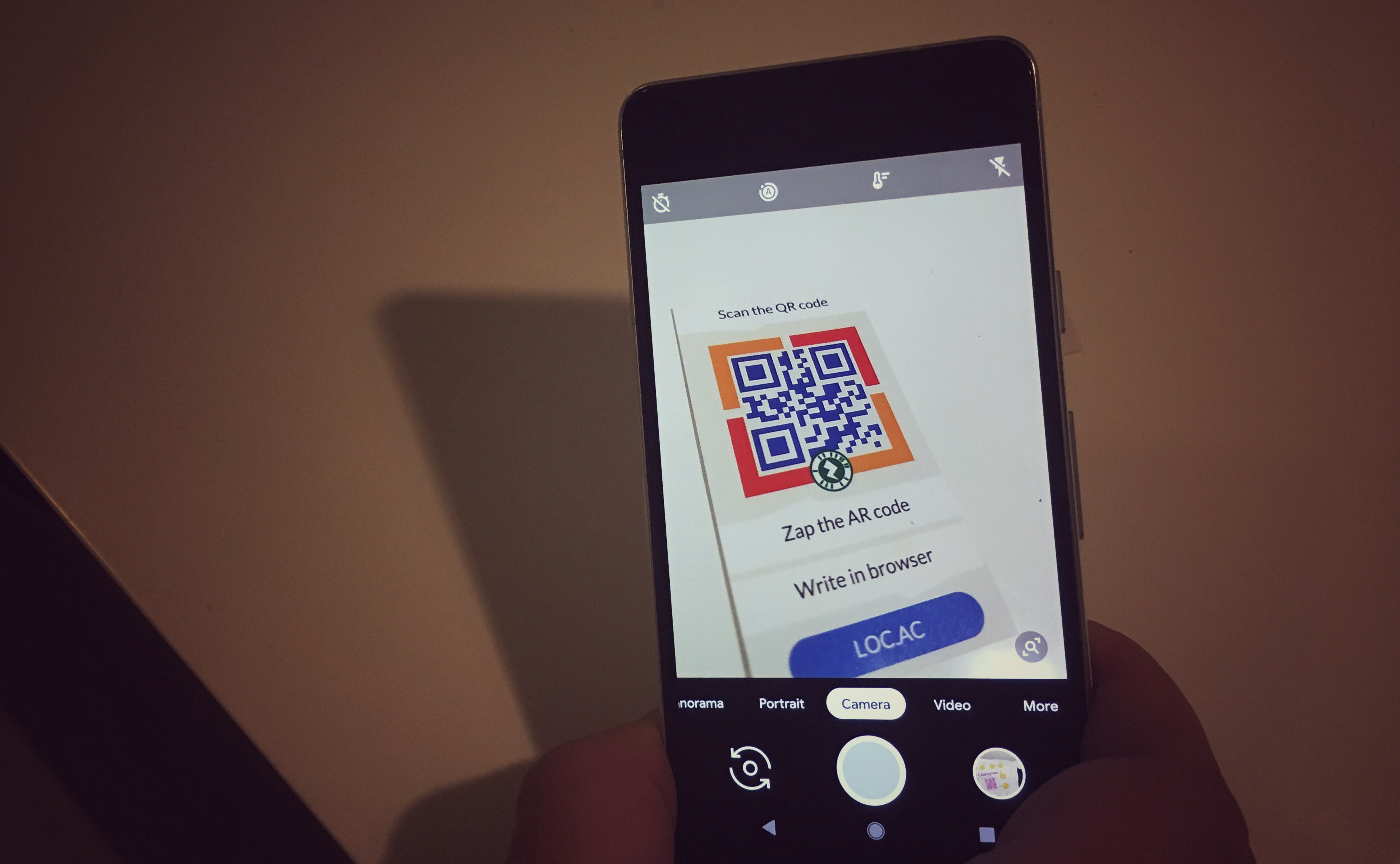 Built-in QR reader on Android - Turunen mobi - Medium