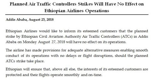 Why the Ethiopian ATC cover-up is wrong, and dangerous