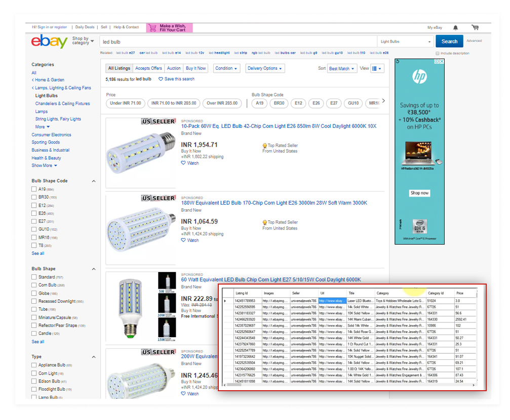 Best Ebay Product Data Scraping Services By Iweb Scraping Services Medium