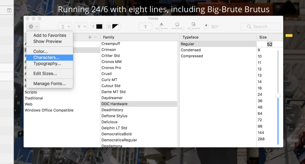 Find Glyphs and Advanced Type Features in Sketch - Brant Day - Medium