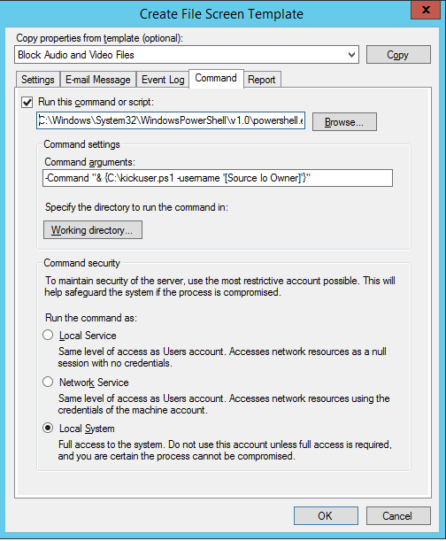 Using Windows FSRM to build a Killswitch for Ransomware