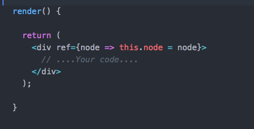 Little neat Trick to capture click outside React component