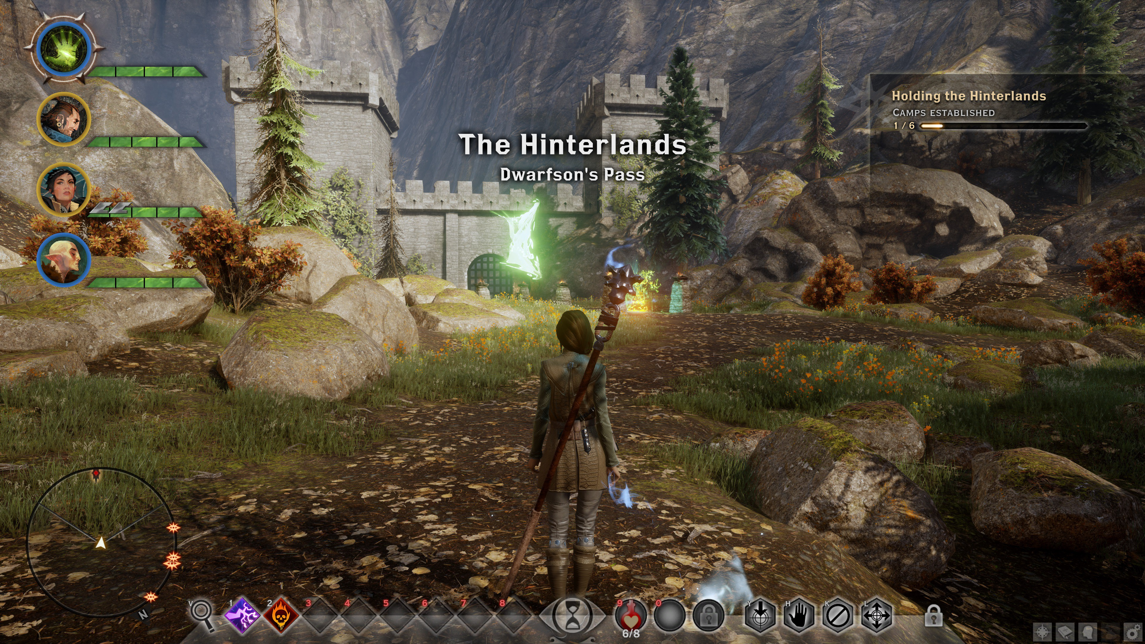"""Week 1 — An hour with """"Dragon Age: Inquisition"""" [Creating"""