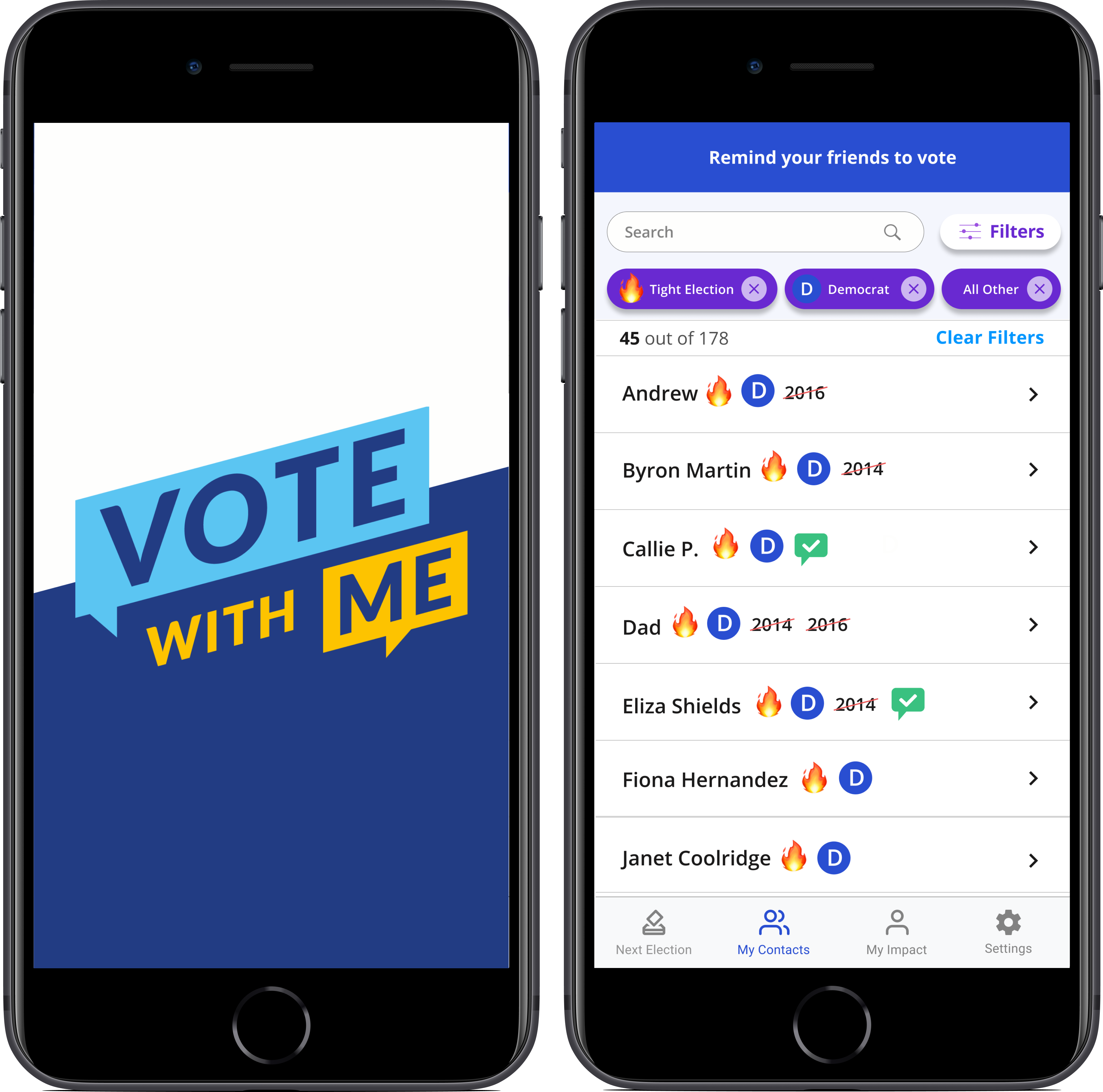 How we designed a tool for you to get your friends to vote