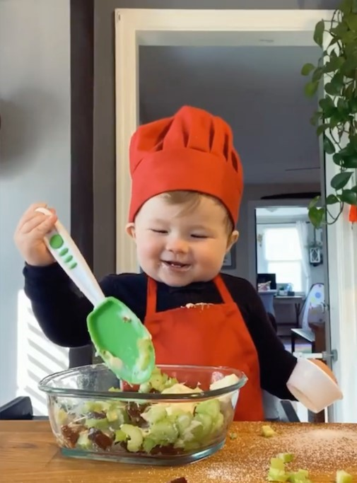 Cute Young Chef