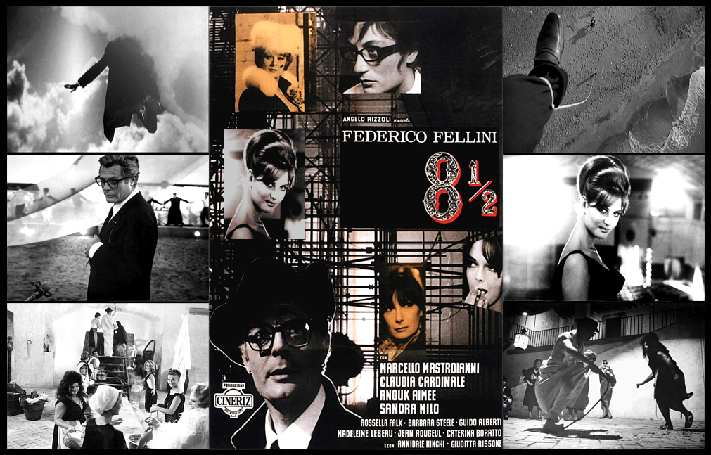 """A FILM TO REMEMBER: """"8½"""" (1963). The 55th Anniversary of Federico ..."""